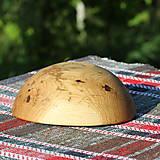 Nádoby - miska z dubového dreva - 13523465_