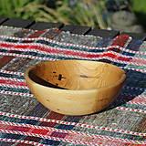 Nádoby - miska z dubového dreva - 13523467_