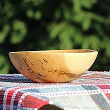 Nádoby - miska z dubového dreva - 13523453_