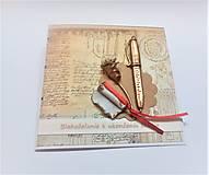 Papiernictvo - Pohľadnica ... k ukončeniu štúdia II - 13524901_