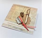 Papiernictvo - Pohľadnica ... k ukončeniu štúdia II - 13524903_