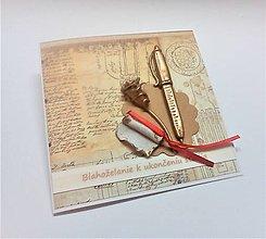 Papiernictvo - Pohľadnica ... k ukončeniu štúdia II - 13524902_