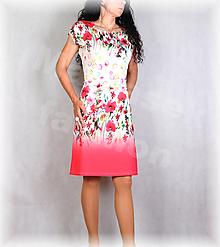 Šaty - Šaty s řasením v pase vz.687 - 13524192_