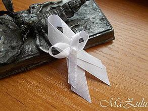 Pierka - svadobné pierko biele - 13524274_