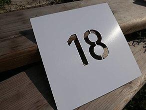 Tabuľky - Popisné číslo: Šablóna - 13524324_