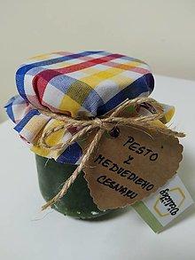 Potraviny - Pesto z Medvedieho  cesnaku v darčekovom balení - 13525551_