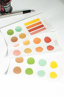 """Papier - Journaling nálepky """"Bright tone"""" - 13525176_"""