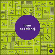 Iné doplnky - Vreckovka - Idem  po zelenej - 13525013_
