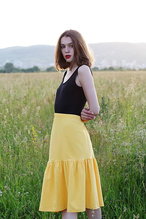 Sukňa z eko bavlny