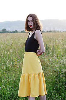 Sukne - Sukňa z eko bavlny - 13527663_