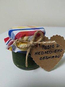 Potraviny - Pesto z Medvedieho  cesnaku v malé balenie - 13527249_
