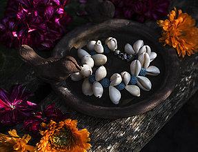 """Náramky - Mušľový náramok """" Príbeh mora"""" - 13530059_"""