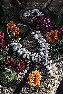 """Náhrdelníky - Mušľový náhrdelník """"Príbeh mora"""" - 13530063_"""