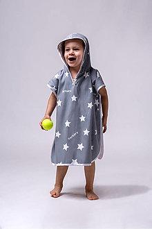 Detské oblečenie - PONČO OSUŠKA - SUPERSTARS - 13529322_