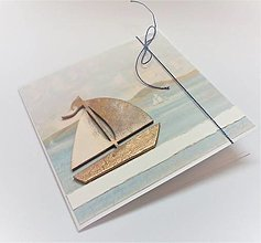 Papiernictvo - Pohľadnica ... životom plávam :) - 13531611_