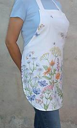 Iné oblečenie - Zásterka Lúčne kvety - 13531805_
