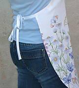 Iné oblečenie - Zásterka Lúčne kvety - 13531806_