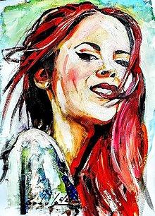 Obrazy - portrety - 13531078_