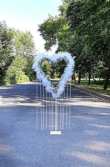 Dekorácie - svadba - veľké srdce dekorácia - požičaj si ma - 13531814_