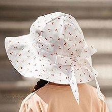 Detské čiapky - Detský klobúk cherry - 13531829_