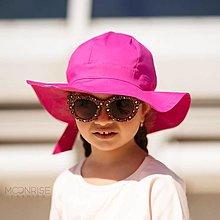 Detské čiapky - Detský klobúk fuchsia - 13531846_
