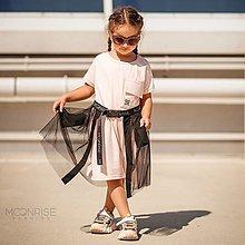 Detské oblečenie - Tylová sukňa moonrise - black - 13531877_