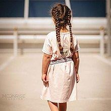 Detské oblečenie - Organické šaty oversize - light rosa - 13531882_