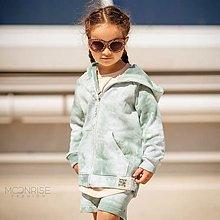 Detské oblečenie - Detská mikina - all eyes on me mint - 13531889_