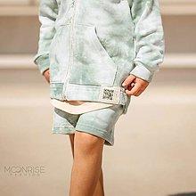 Detské oblečenie - Detské kraťasy - all eyes on me mint - 13531896_