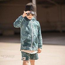 Detské oblečenie - Detská mikina - all eyes on me petrol - 13531902_
