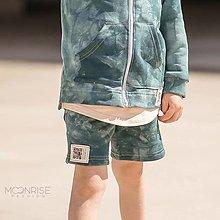 Detské oblečenie - Detské kraťasy - all eyes on me petrol - 13531913_