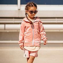 Detské oblečenie - Detská mikina - all eyes on me pink - 13531929_