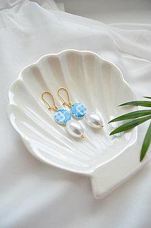 "Náušnice - Náušnice ""Maiolica"" pearls - 13530939_"