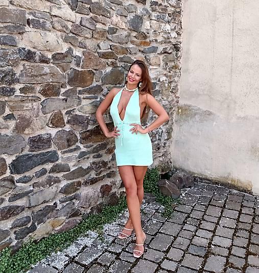 Úpletové šaty MISS
