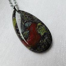 Náhrdelníky - Dračí kameň - 13534143_