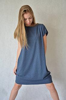 Šaty - Úpletové dámske šaty/tunika BEA Jeans - 13532849_