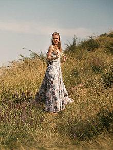 Sukne - Kruhová sukňa (S - Béžová) - 13534969_