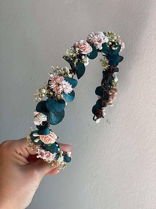 """Kvetinový polvenček """"srdce na dlani"""""""