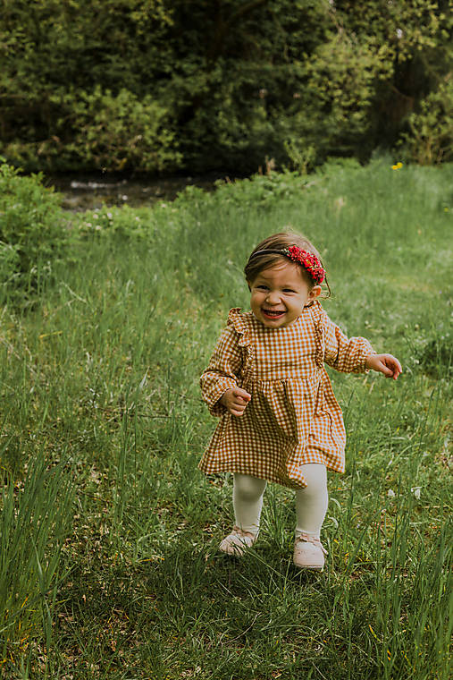 """Kvetinová čelenka """"najkrajší úsmev"""""""