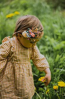 """Ozdoby do vlasov - Kvetinová čelenka """"lúka plná úsmevov"""" - 13532975_"""