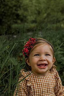 """Ozdoby do vlasov - Kvetinová čelenka """"najkrajší úsmev"""" - 13533978_"""