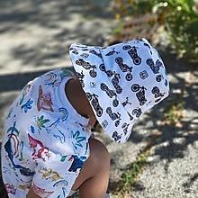Detské čiapky - Klobúčik moto - 13534689_