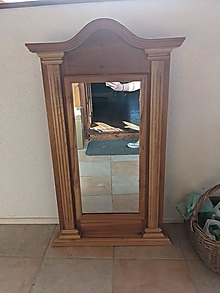 Nábytok - Zrkadlo (Úzke 55cm) - 13534342_