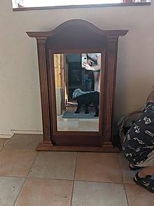 Nábytok - Zrkadlo (Širšie 66cm) - 13534350_