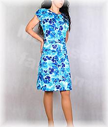 Šaty - Šaty s řasením v pase vz.695 - 13535128_