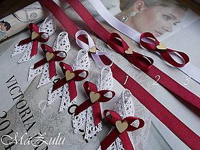 """Pierka - svadobné pierka """"Vintage"""" + náramky - 13537522_"""