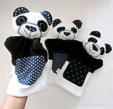 Hračky - Maňuška panda - na objednávku - 13537134_