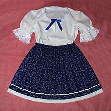 Detské oblečenie - dievčenský kroj, ľudový odev veľkosť  (116) - 13537037_