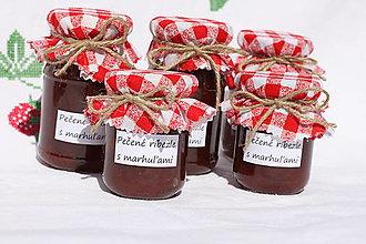 Potraviny - Pečené ríbezle s marhuľami - džem bez konzervantov - 13537519_