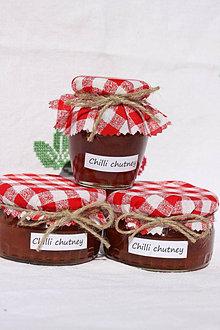 Potraviny - Marhuľové jemne pikantné chutney s cibuľou a cesnakom - 13537532_